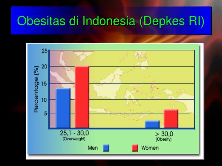 Obesitas di indonesia depkes ri