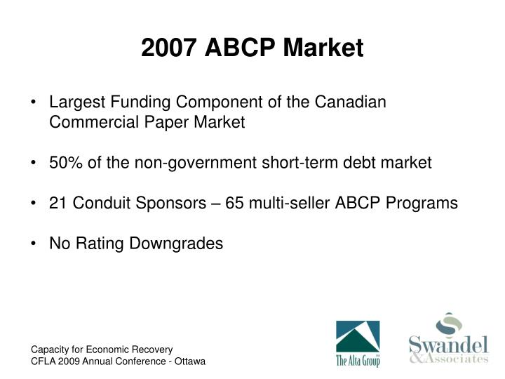 2007 ABCP Market