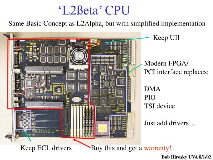 'L2ßeta' CPU