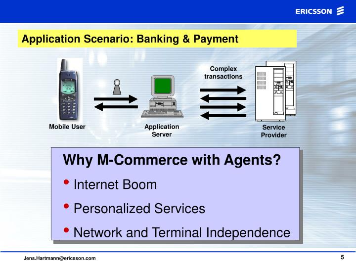 Why M-Commerce with Agents?