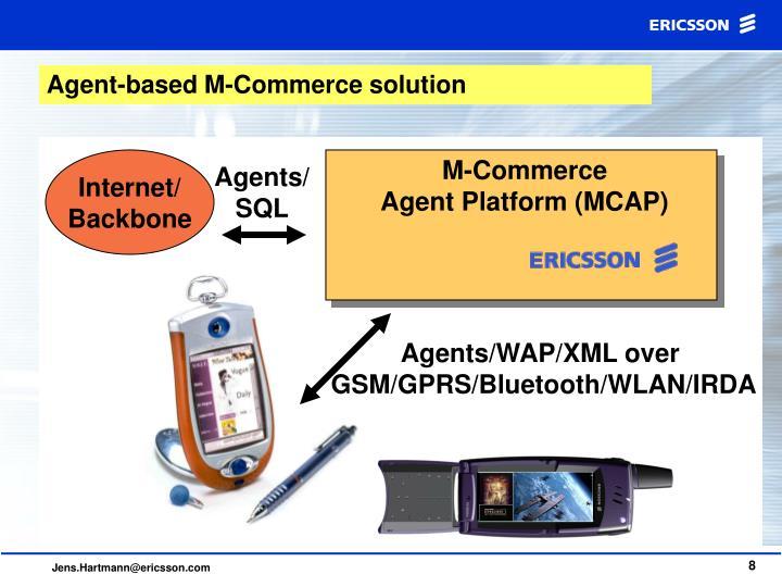 Agent-based M-Commerce solution