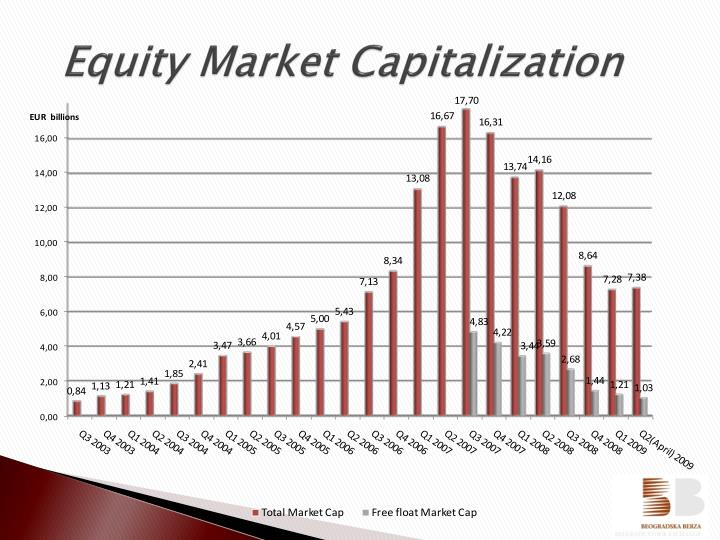 Equity Market Capitalization