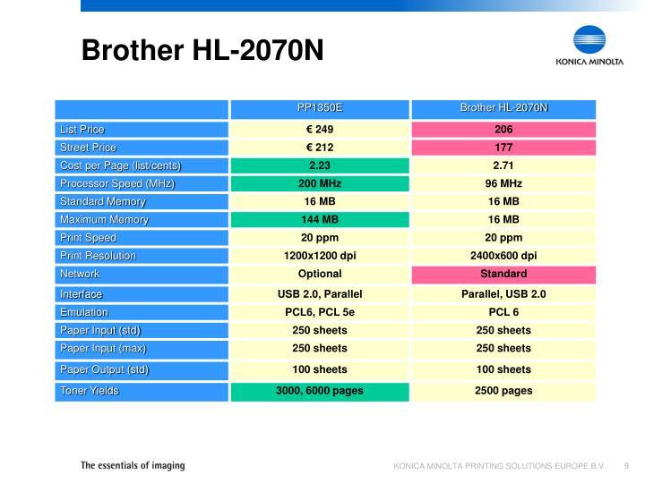 Brother HL-2070N