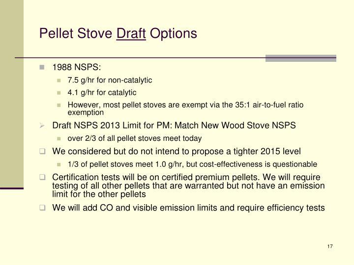 Pellet Stove