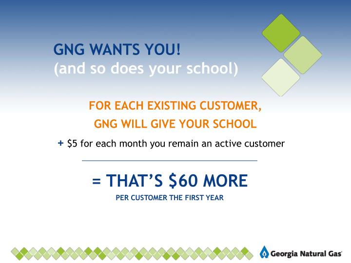 GNG WANTS YOU!