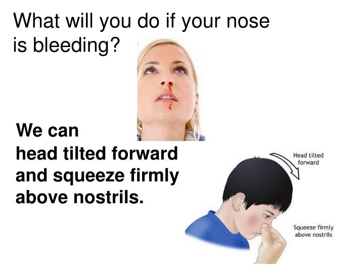 What will you do if your nose