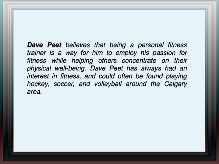 Dave Peet