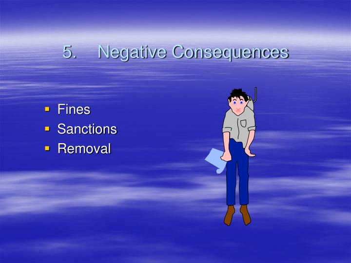5.Negative Consequences