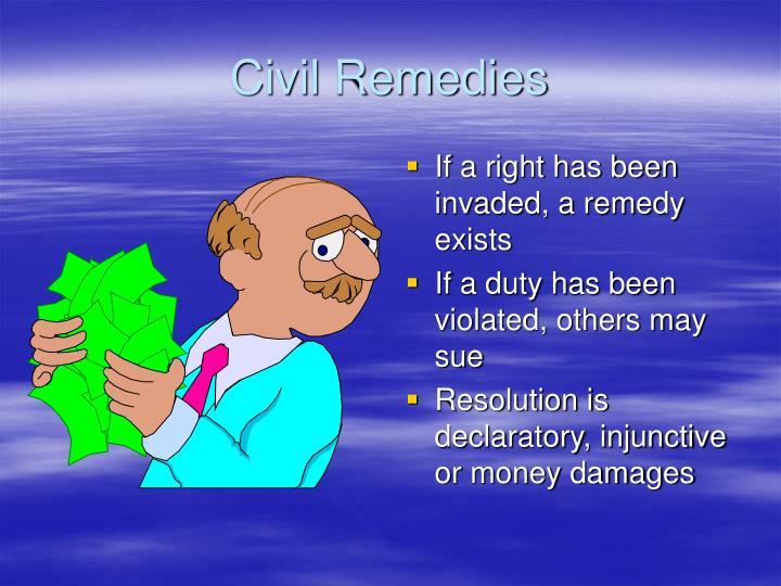 Civil Remedies