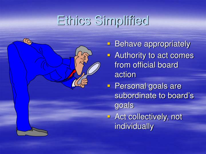 Ethics Simplified