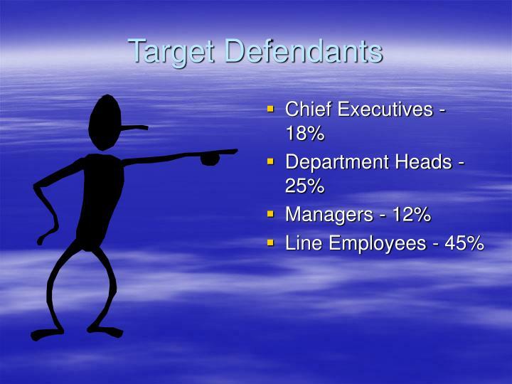 Target Defendants