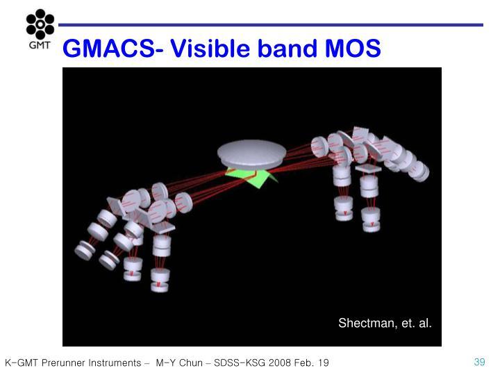 GMACS- Visible band MOS