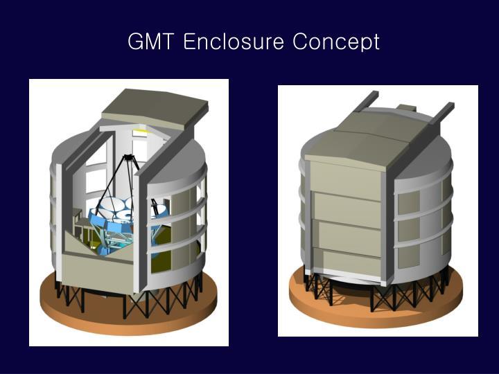 GMT Enclosure Concept