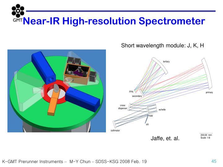Near-IR High-resolution Spectrometer