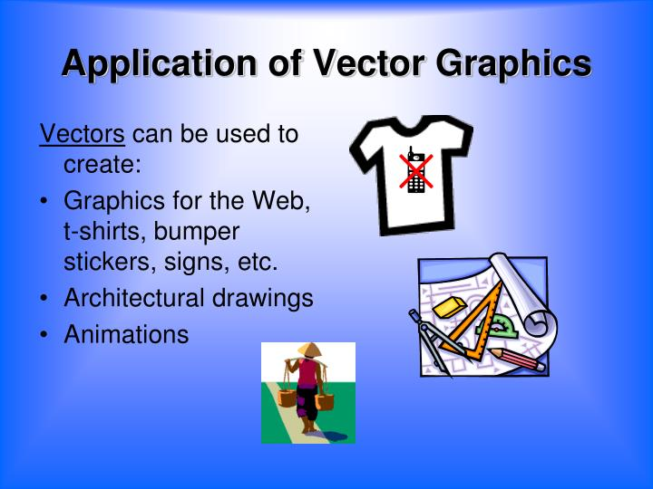 Application of Vector Graphics
