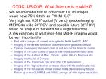 conclusions what science is enabled