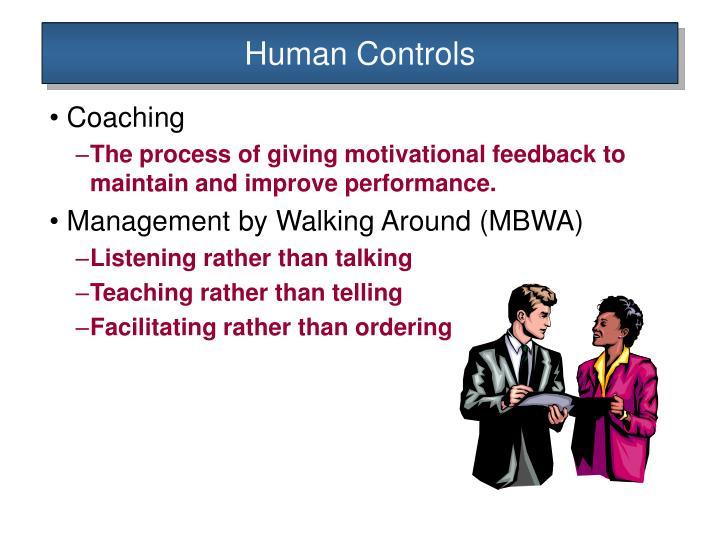 Human Controls