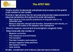 the atst will