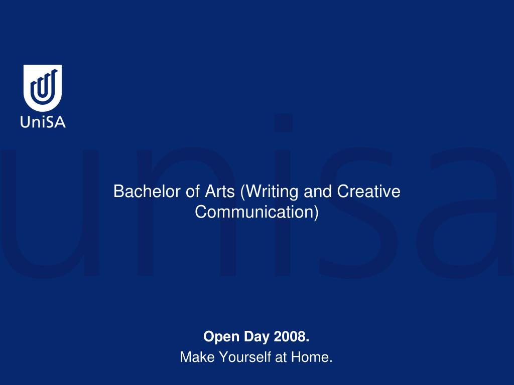 creative writing unisa