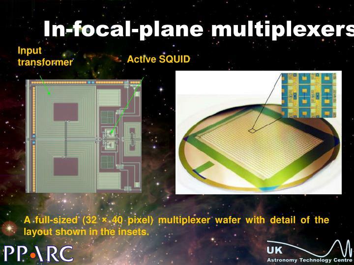 In-focal-plane multiplexers