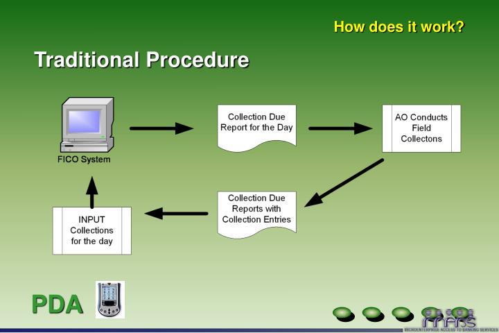 Traditional Procedure
