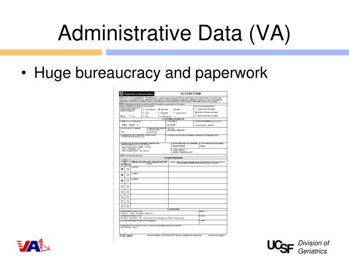 Administrative Data (VA)