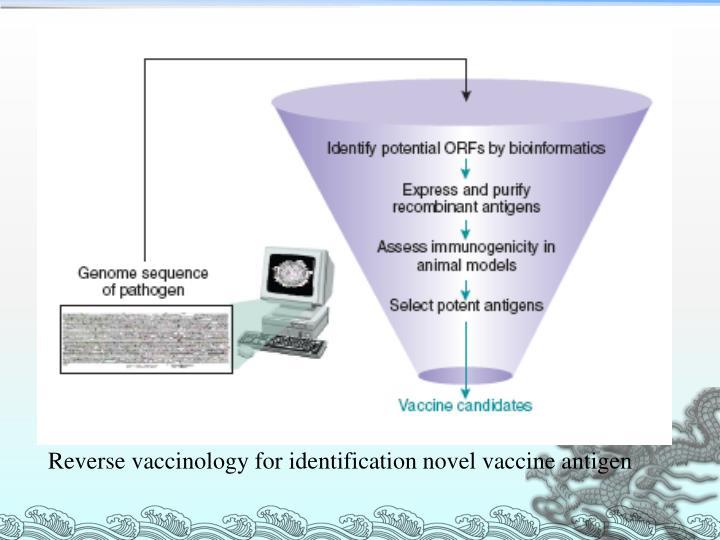 Reverse vaccinology for identification novel vaccine antigen