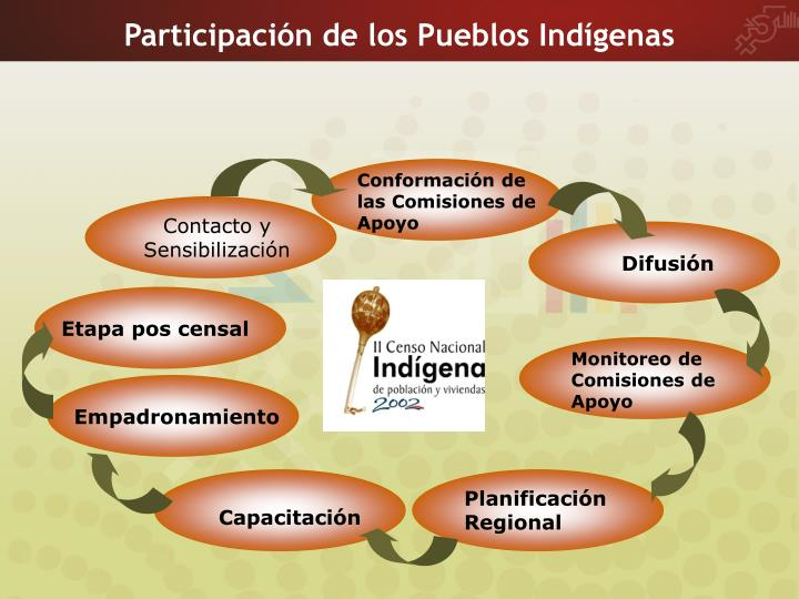 Participación de los Pueblos Indígenas