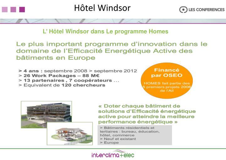 H tel windsor