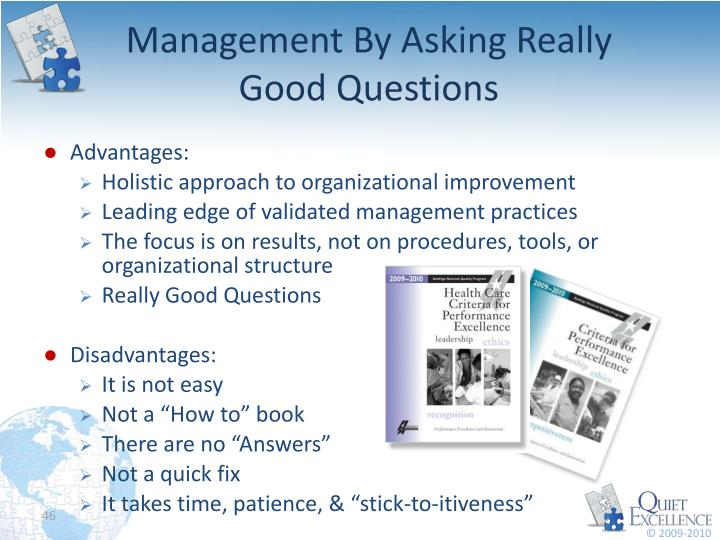 Management By Asking Really Good Questions