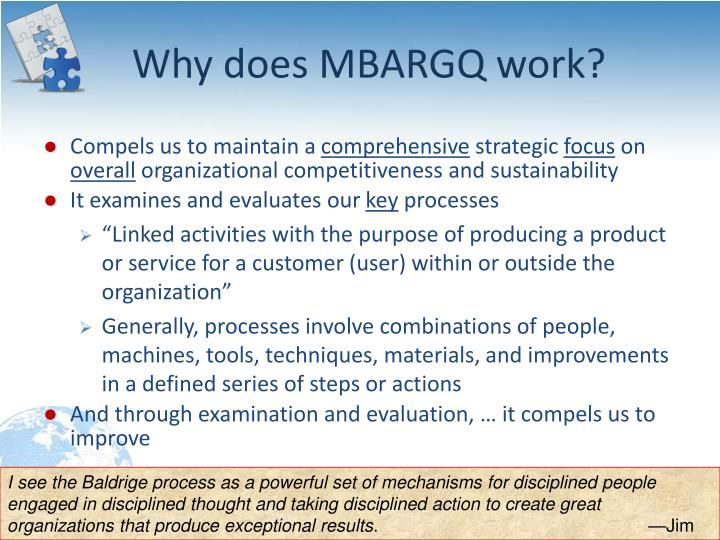 Why does MBARGQ work?