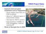 venus project status