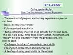 csikszentmihalyi flow the psychology of optimal experience