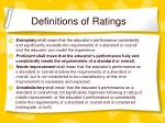 definitions of ratings