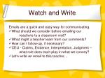 watch and write1
