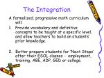 the integration1