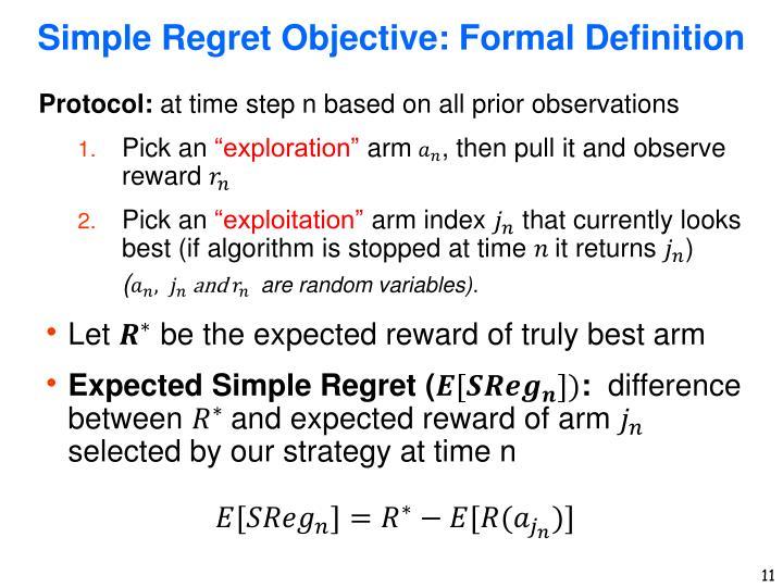 Simple Regret
