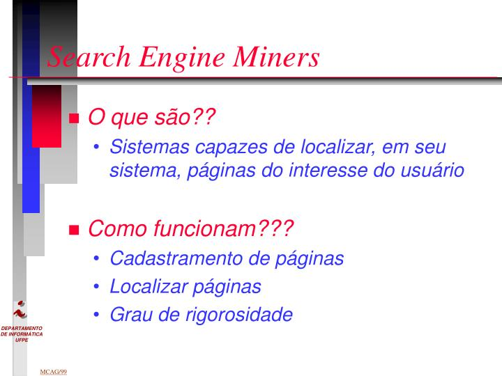 Search Engine Miners