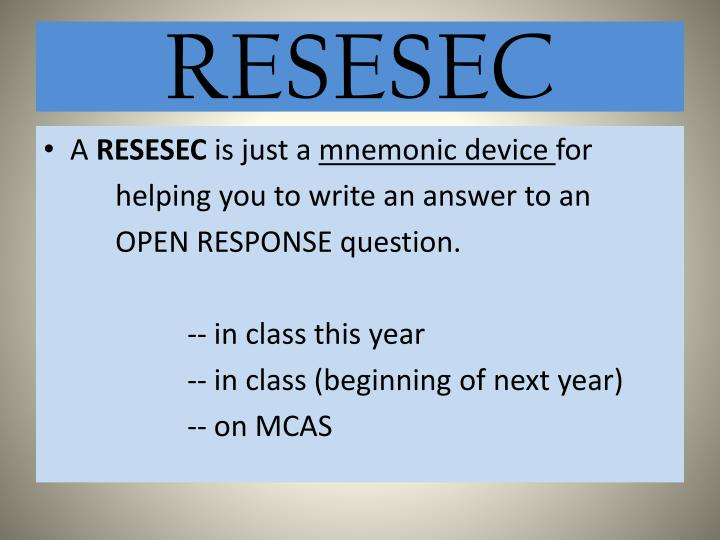 Resesec