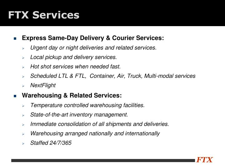 FTX Services