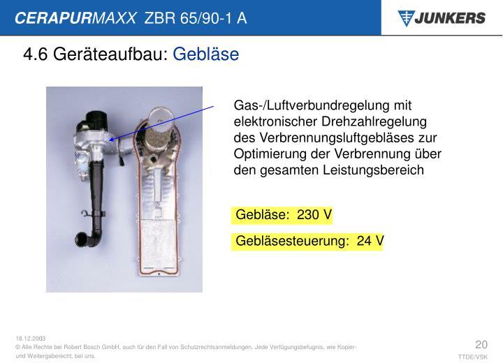4.6 Geräteaufbau: