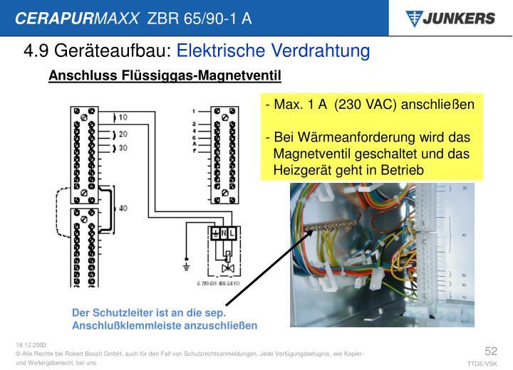 4.9 Geräteaufbau: