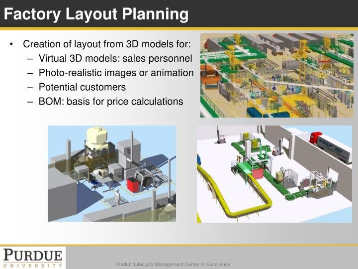 Factory Layout Planning