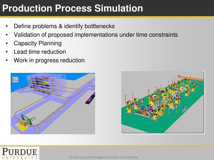 Production Process Simulation