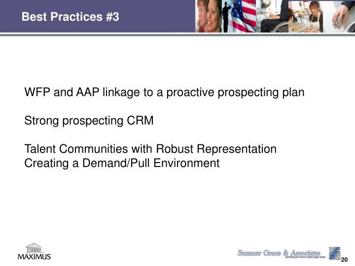 Best Practices #3