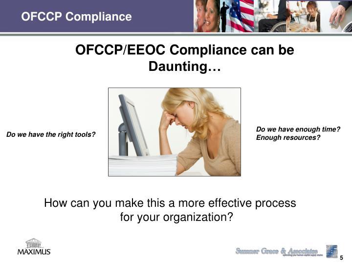 OFCCP Compliance