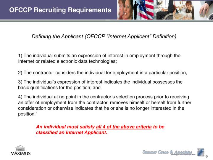 OFCCP Recruiting Requirements