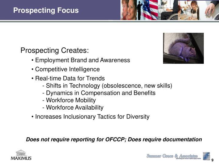 Prospecting Focus