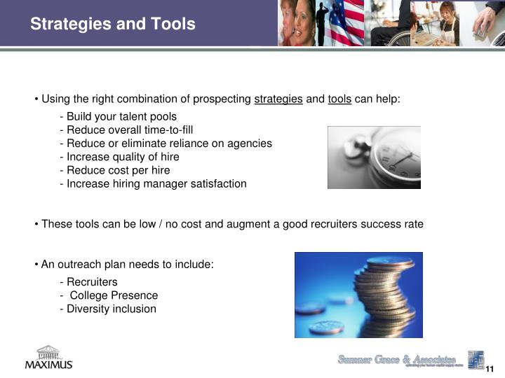 Strategies and Tools