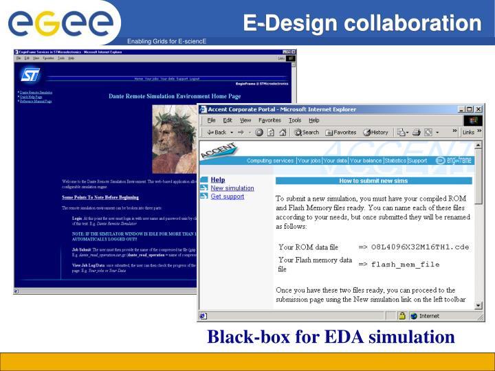 E-Design collaboration